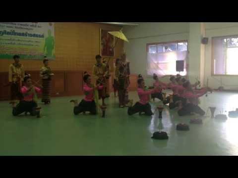 นาฏศิลป์ไทยสร้างสรรค์ : ลีลาลายประทีปทองกลองมังคละนาฏยสุโข โรงเรียนทุ่งเสลี่ยมชนูปถัมภ์ จ.สุโขทัย