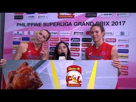 Match MVP: Hillary Hurley and Lindsay Stalzer | Chooks-to-Go PSL Grand Prix 2017