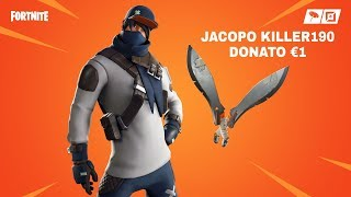 SHOP FORTNITE 20/08/2019 !! NUOVA SKIN DECISIONISTA E PICCONE METRO MACHETE ! JACOPO KILLER190 €1