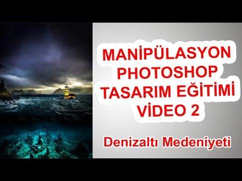 Denizaltı Medeniyeti - Manipülasyon Tasarım Öğreniyorum #Photoshop #PhotoshopTutorial thumbnail
