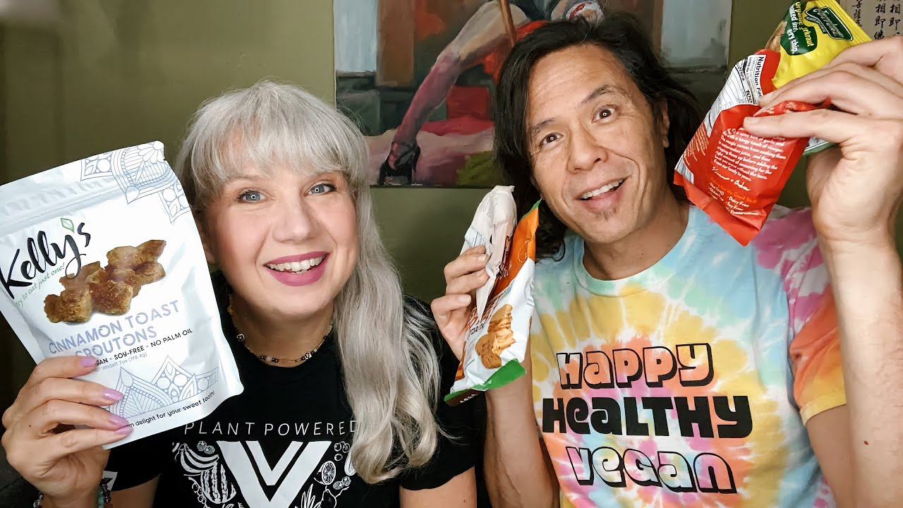 Live Snackageddon!!! Trying & Reviewing Vegan Snacks & Chatting with Viewers