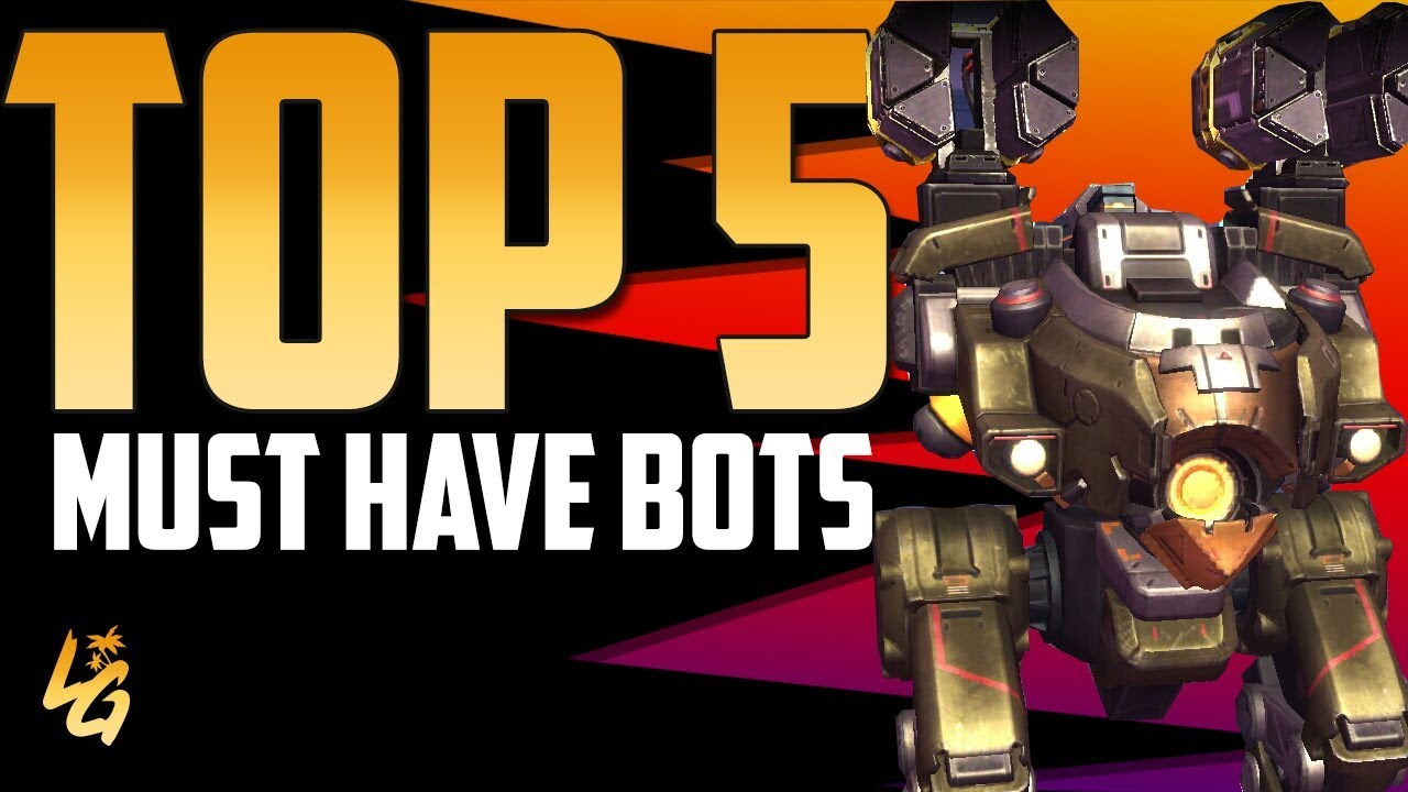 War Robots Top 5 must have Bot in your Hangar | Well worth it