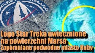 Na Marsie zlokalizowano dziwną strukturę! Wygląda jak logo Star Trek