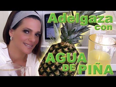 Agua de Piña para adelgazar... Secreto de Barbara Bermudo