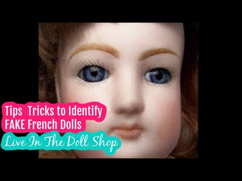 Tips To Tell A Fake Antique Doll | Doll Identification Tips And Tricks Video