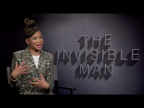 Storm Reid Interview: The Invisible Man