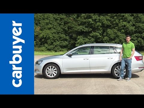 Skoda Superb Estate 2015 review Carbuyer