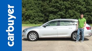 Skoda Superb Estate review - Carbuyer