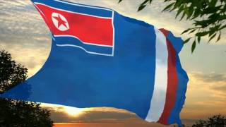 Flag and anthem of North Korean Territory of Indonesia | TheFlag&AnthemGuy