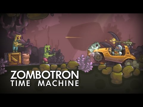 Zombotron 2: Time Machine — Полное прохождение (Зомботрон 2 Машина времени)
