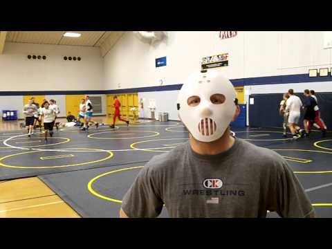 Lakeland Wrestling Coach Mike DeRoehn on Halloween Practice