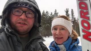 На лыжню
