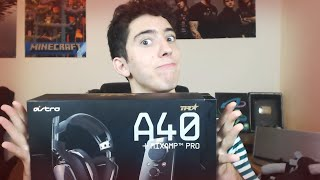 headsets astro a40 unboxing rabahrex