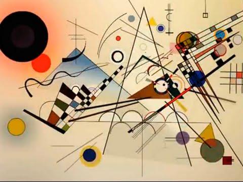Kandinsky - Composition VIII & The Rite of Spring - Ígor Stravinski Animation