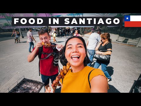 CHILEAN FOOD That We NEVER Expect - Santiago De Chile 🇨🇱
