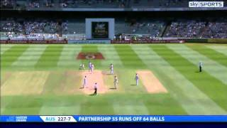 england retain the ashes highlights of the 4th test day 4 hd 2010 2011 melbourne mcg