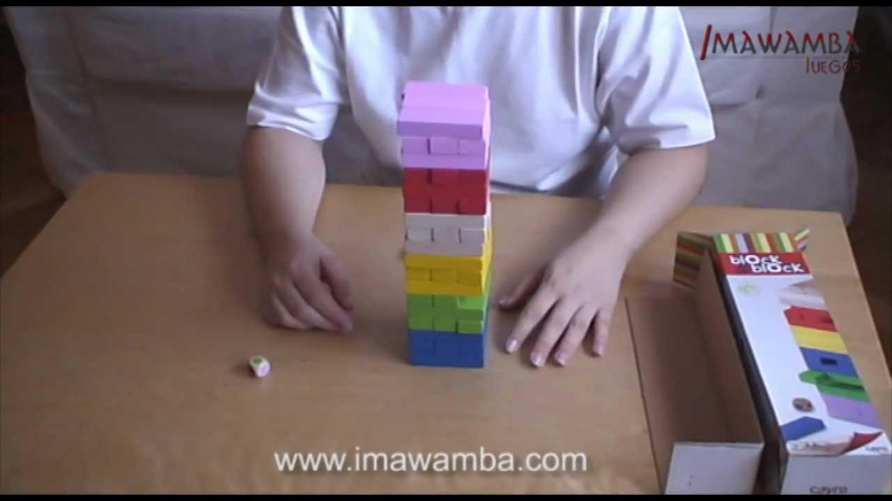 block a block infantil de colores y para nios juegos de habilidad imawamba juegos