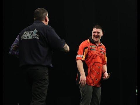 2018 Premier League of Darts Week 12 Gurney vs Anderson
