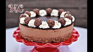 Tort Ferrero Rocher z Nutellą Bez Pieczenia – PRZEPIS – Mała Cukierenka