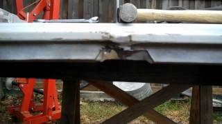 c10 hood repair 2