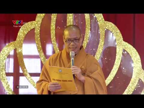 Video VTV1 truyền hình trực tiếp: Bế mạc Đại lễ Phật đản Vesak 2019 tại TTVH Tam Chúc, Hà Nam