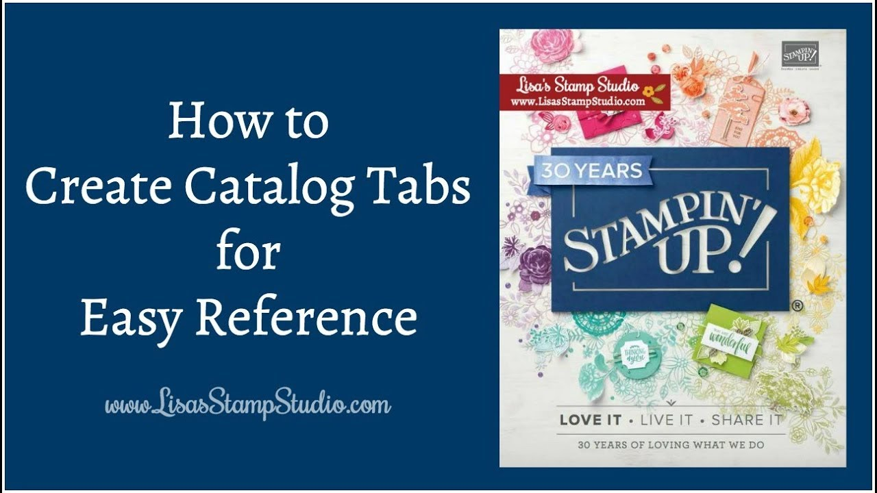 how to create a catalog