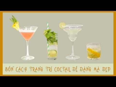 [EP8 :I CAN YOU CAN ] 4 Cách trang trí cocktail và các loại đồ uống đơn giản tại nhà  | Rượu ngon - Trang cung cấp thông tin giúp bạn trang trí đẹp