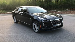 2019 Cadillac CT6 Luxury Walkaround Review and Features