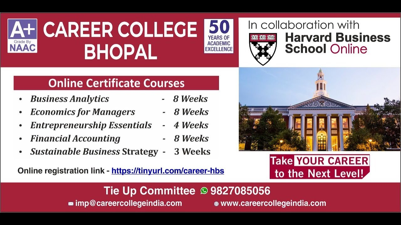 Career College Bhopal Disruptive Strategy An Introduction Youtube