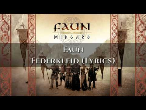 Faun - Federkleid (LYRICS VIDEO)