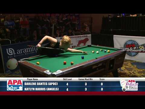Ladies 8-Ball Championship - 2017 APA World Pool Championship