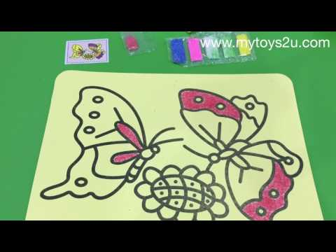 Party Ideas: Sand Art for Kids' Parties
