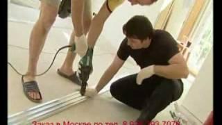 Натяжные потолки видео. Натяжной потолок(, 2010-03-15T19:16:05.000Z)