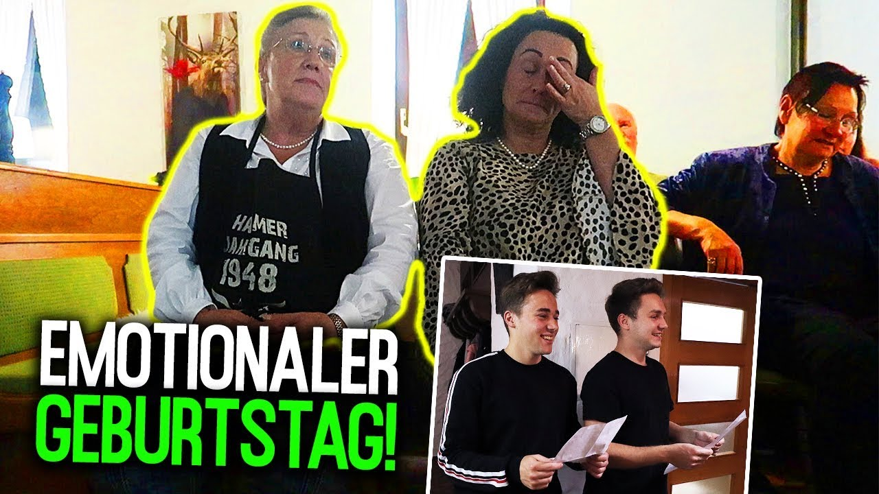 Emotionale Geburtstagsrede Fur Mama Und Oma Max Und Chris Youtube