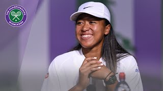 Naomi Osaka Wimbledon 2019 Pre-Tournament Press Conference