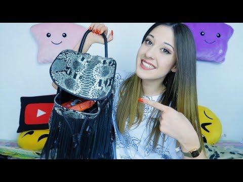 COSA C'È NELLA MIA BORSA? *What's in my bag* - Valentina Lattanzio