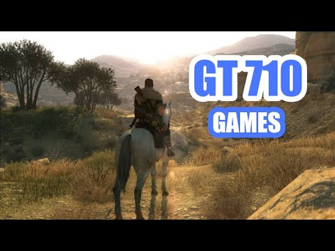 Top 10 INSANE games for NVIDIA Geforce GT 710 minimum / maximum  settings