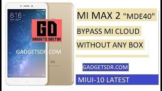 Mi Max 64 Gb Account Remove