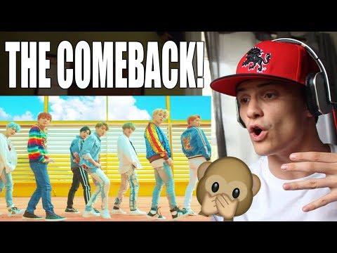 BTS (방탄소년단) DNA Official MV REACTION