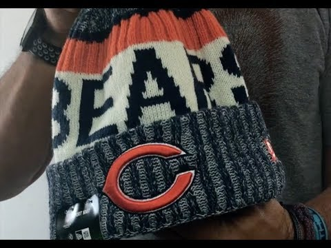 Bears '2017 STADIUM BEANIE' Navy Knit Hat by New Era