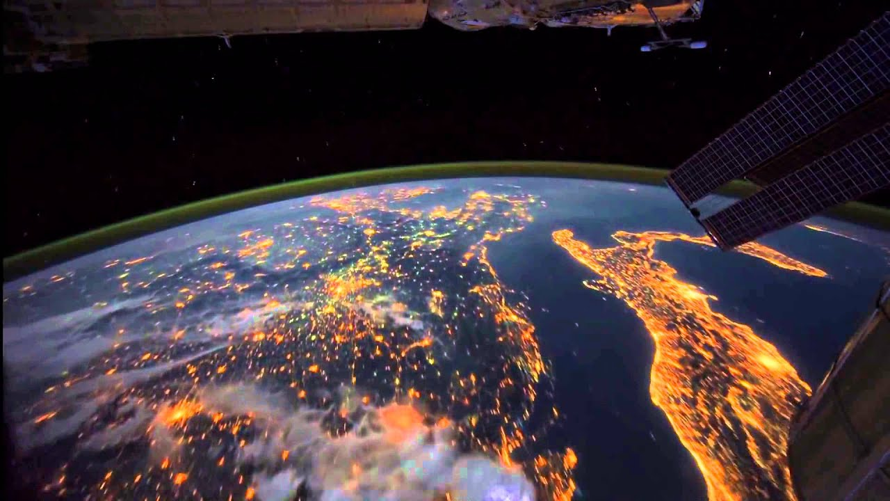 planet earth from space at night - photo #27