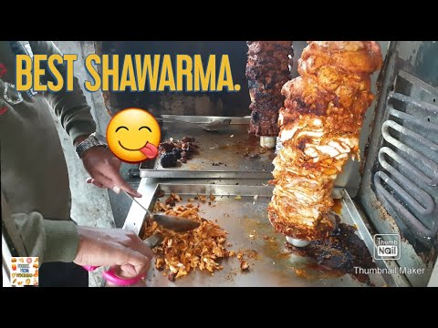 BEST SHAWARMA IN HYDERABAD | MASHALLAH SHAWARMA | THANKS FOR 100 SUBSCRIBE | #FOODIEFROMHYDERABAD