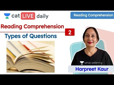 cat:-types-of-questions-|-reading-comprehension-|-verbal-reasoning-|-unacademy-cat-|-harpreet-ma'am