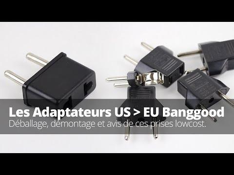 Prise Adaptateur US Vers Europe - BangGood - Avis FR