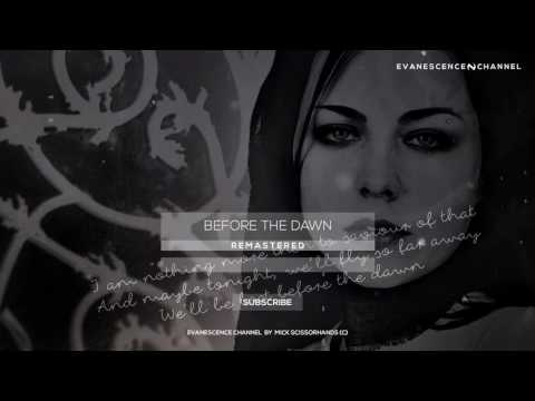 Evanescence: Before The Dawn Lyrics Remastered