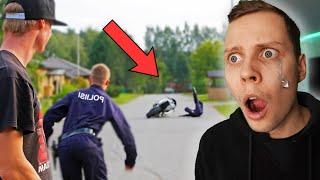 JONNET Kiusasivat Poliiseja ja TÄMÄ TAPAHTUI...