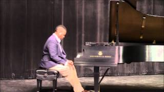 Christopher Dixon - James A. Hefner HBCU Piano Competition 2013 1st place winner