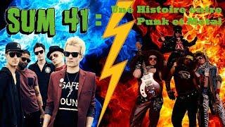 Sum 41 : Une Histoire entre Punk et Métal
