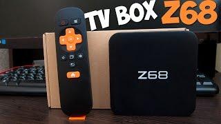 Волшебная коробочка. TV Box Z68. RK3368 65$. GEARBEST.