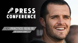 Derek Carr Was a Fan of Zay Jones Coming Out of College | Raiders
